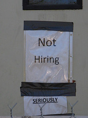 Not hiring...seriously